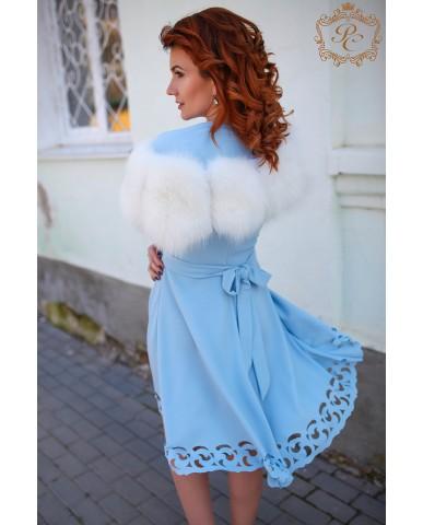 болеро из меха blue frost